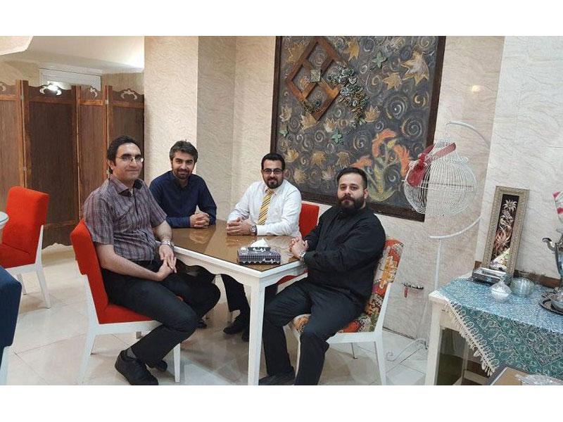 جلسه تیر ماه گروه بازرگانی سایت سلامت دات لایف