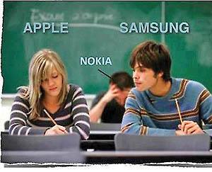 1رقابت سامسونگ و اپل