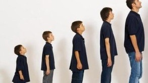افزایش قد از کودکی تا بزرگسالی