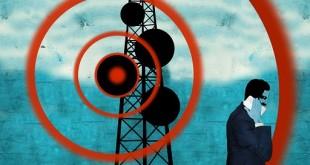 امواج تلفن همراه