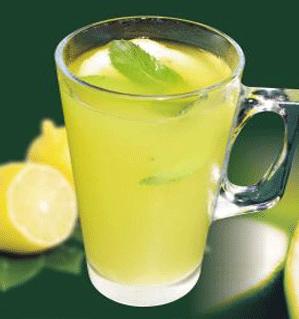 شربت به لیمو