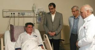 عیادت وزیر بهداشت از استاد آواز محمدرضا شجریان