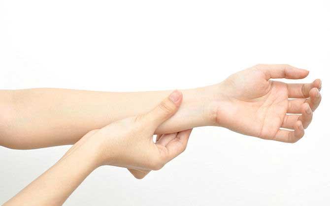 آموزش ماساژ ساعد و بازو
