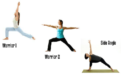 آموزش حرکات یوگا برای کاهش استرس