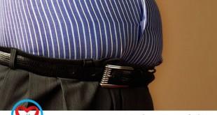 ارتباط کالری دریافتی و چاقی با پوست بدن
