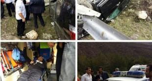 تصادف حسام نواب صفوی در جاده شمال