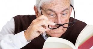 سن که زیاد میشه دید چشم کم میشه