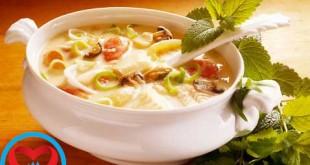 آموزش پختن سوپ شلغم