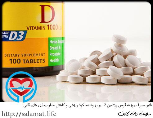 قرص ویتامین دی | سلامت دات لایف راهنمای زندگی سالم