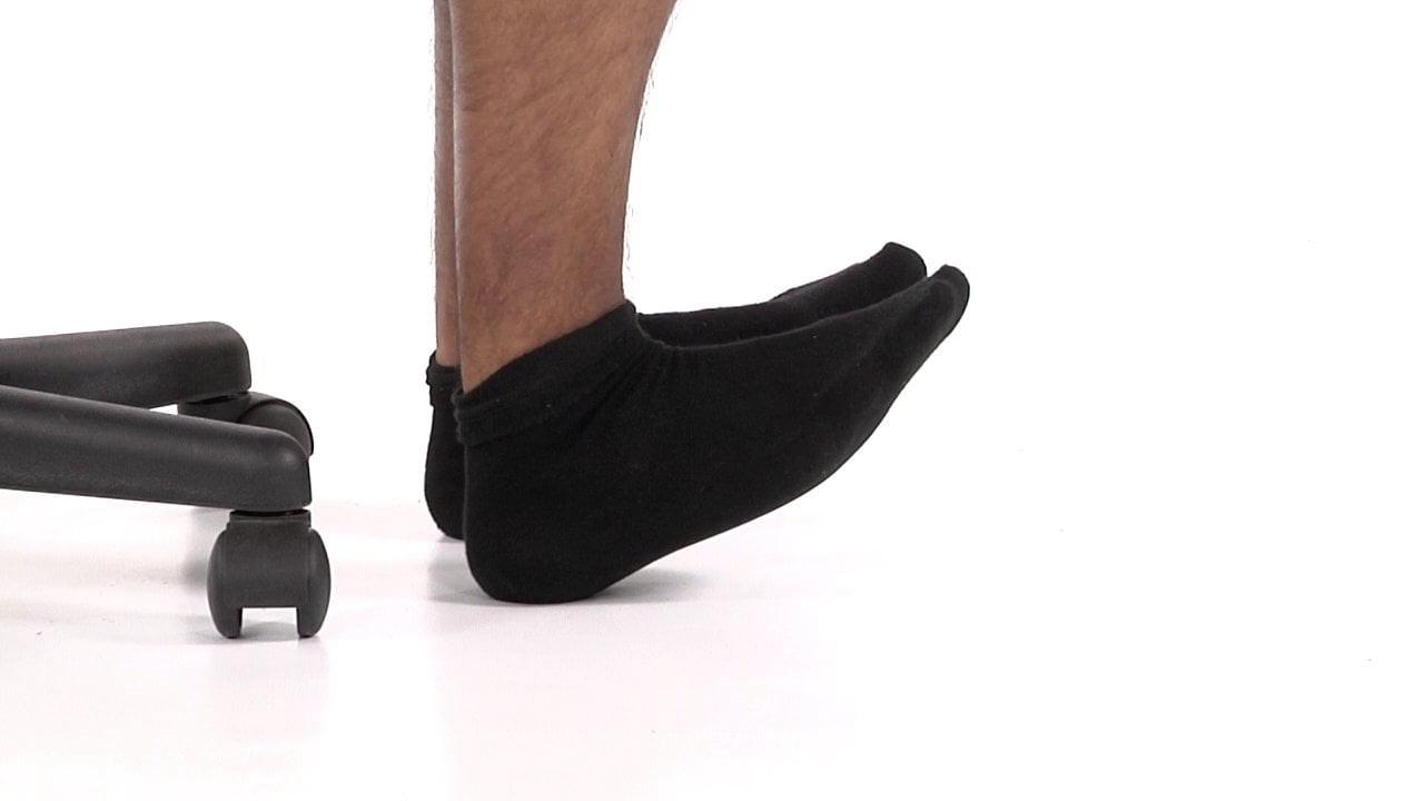 پیاده روی قدرتی-بالا بردن پاشنه پا