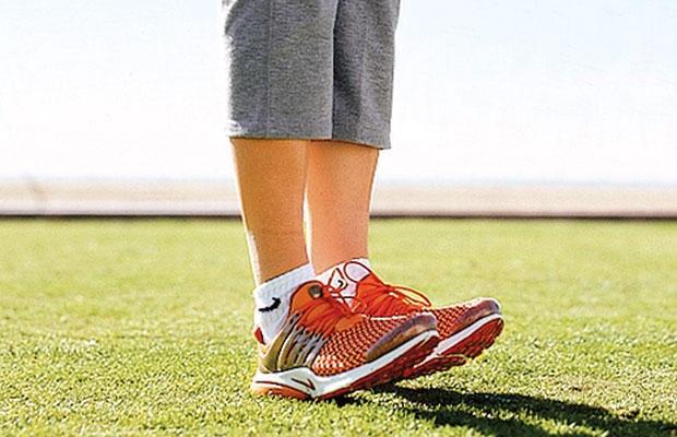 پیاده روی قدرتی-راه رفتن روی پاشنه پا