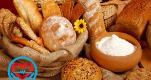 میزان کالری انواع نان ، غلات و حبوبات | سلامت دات لایف
