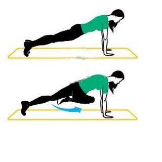 کوچک کردن باسن با ورزش