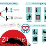 اینفوگرافی ویروس زیکا پیشگیری و راه انتقال | سلامت دات لایف