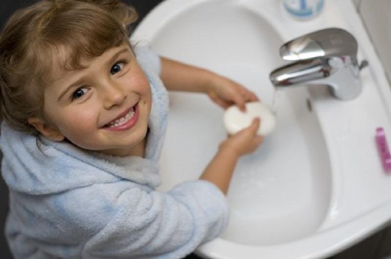اصول صحیح شستن دست ها
