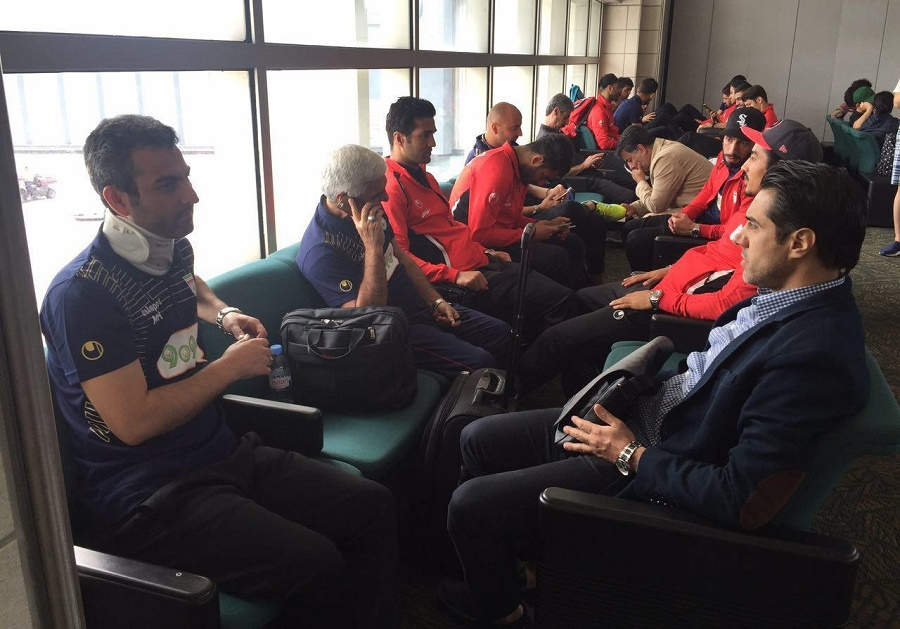 سفر تیم ملی فوتبال ایران