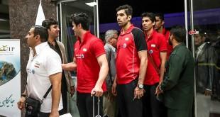 سفر تیم ملی والیبال ایران