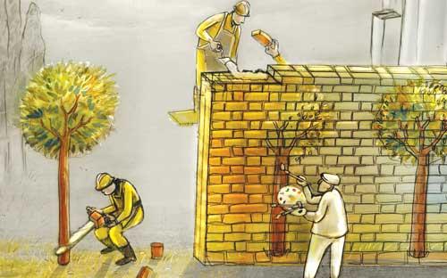 کاریکاتور نقاشی طبیعت | سلامت دات لایف