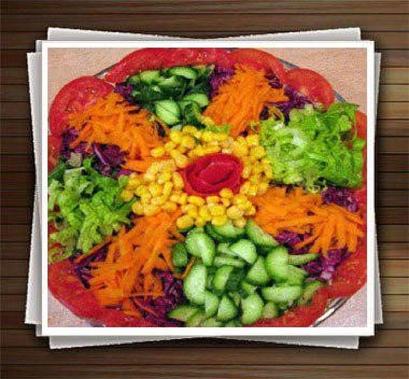 منوی سرآشپز سلامت دات لایف ( سالاد فصل )
