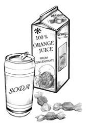 مواد لازم برای خوردن به هنگان هیپوگلایسمی