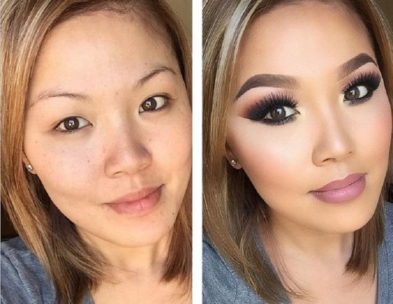 زنان بدون آرایش