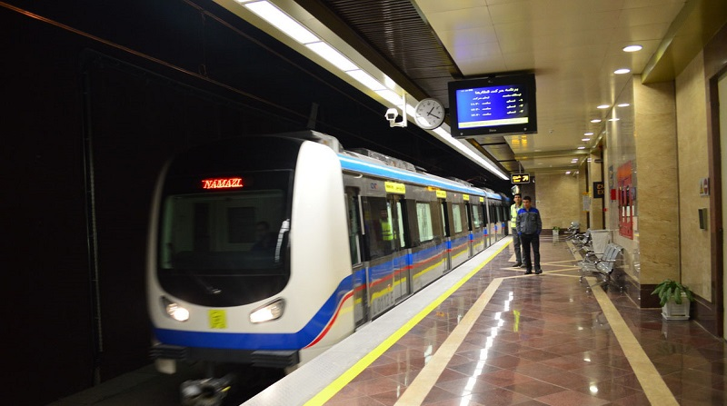 نقاط آلوده مترو