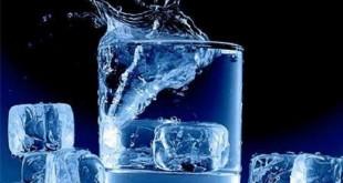 نوشیدن آب یخ در زمان افطار