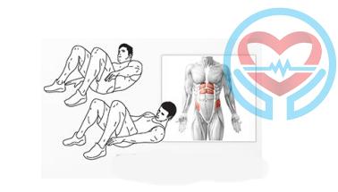 آموزش حرکات مفید برای شکم شش تکه