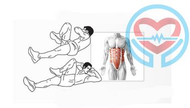 آموزش حرکت چهارم تقسیم شکم