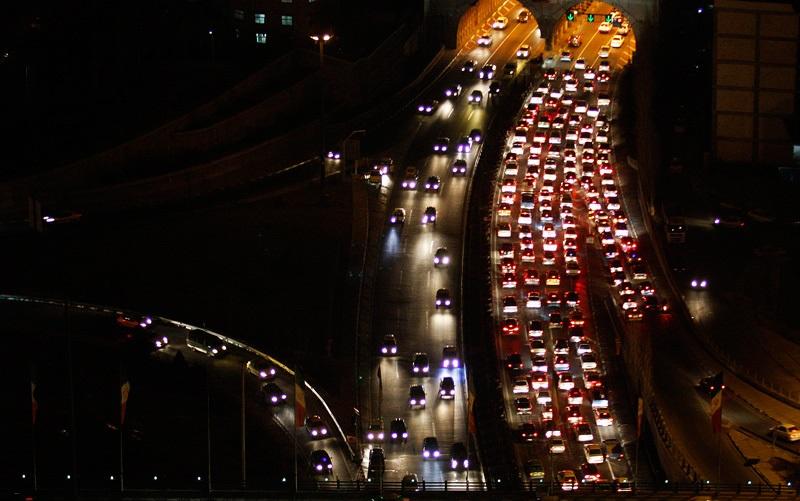 ترافیک در تونل