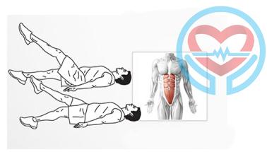 تمرین پنجم برای شش تکه کردن عضلات شکم
