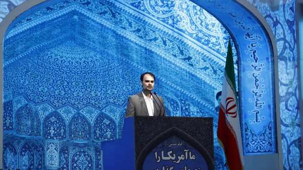 سخنرانی دکتر حسین رضایی زاده در نماز جمعه