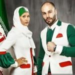 لباس تیم ملی احسان روزبهانی مهسا جاور