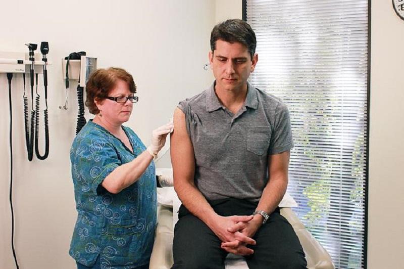 40 ساله ها واکسینه می شوند