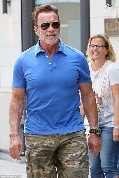 آرنولد در سن 70 سالگی
