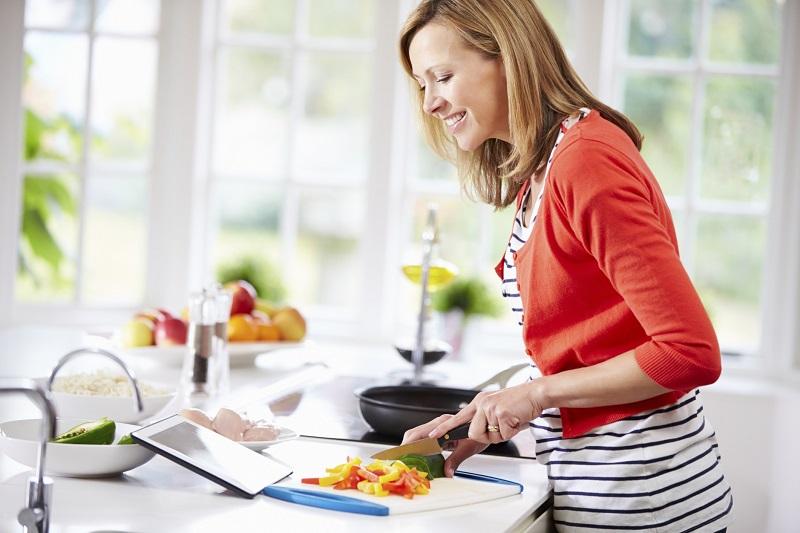 از بین بردن بوی غذا بعد از آشپزی