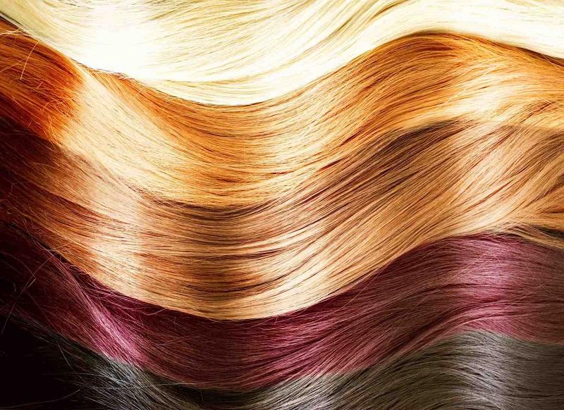 عوارض رنگ کردن مو