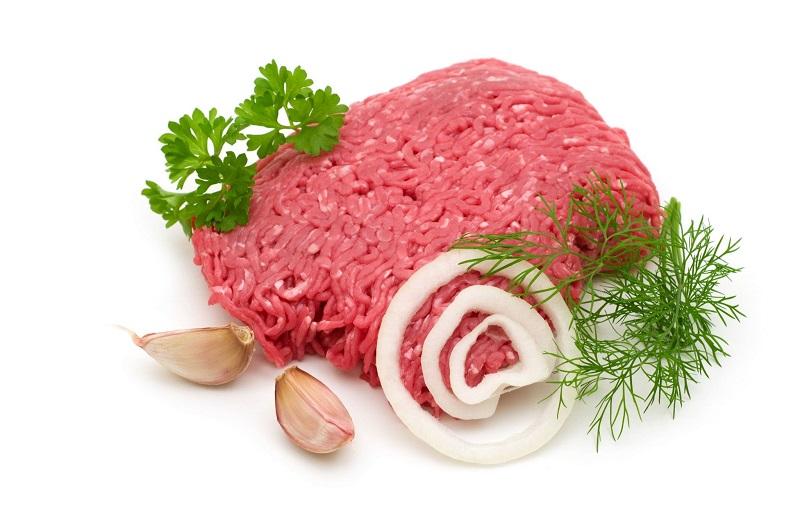 پودر خون در گوشت چرخ کرده