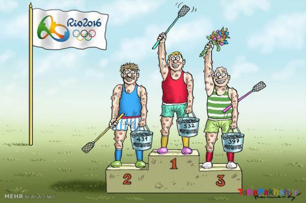 کاریکاتور المپیک ریو