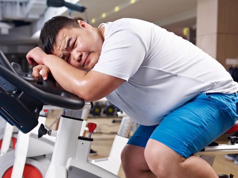 کاهش وزن ناموفق