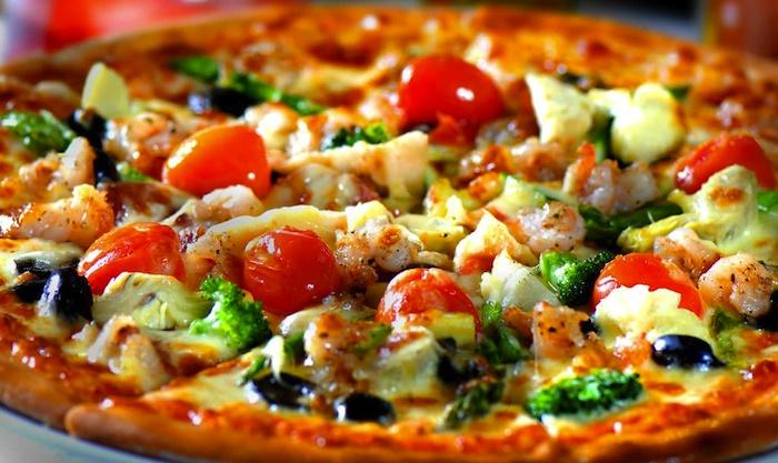 Image result for پیتزا مخلوط