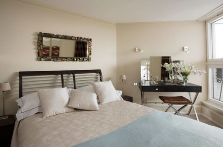 اتاق خواب در خانه های نقلی