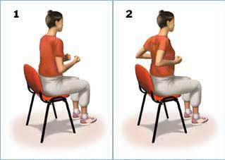 ورزش کششی قسمت فوقانی کمر