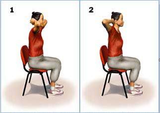 ورزش کششی جهت قسمت فوقانی کمر و قفسه سینه
