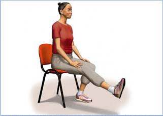 ورزش کششی جهت تقویت عضلات ران