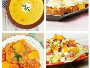 آشپزی با کدو حلوایی در پاییز