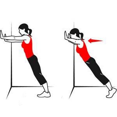 تمرین برای عضلات سینه در خانه