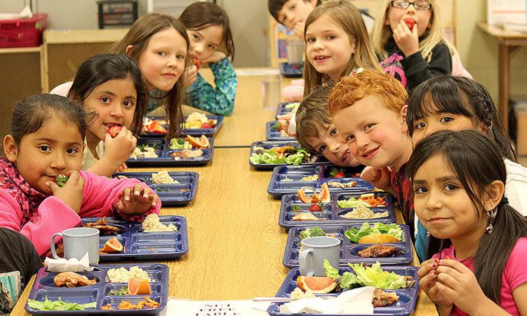 ناهار دانش آموزان