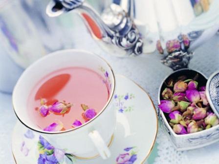 خواص چای گل محمدی