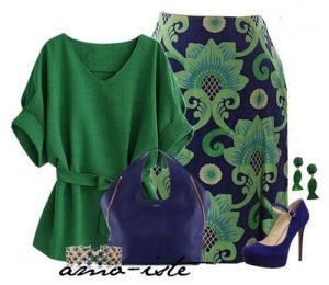 رنگ لباس 96